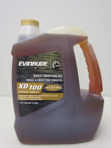 evinrude-764357-e-tec-xd-100-synthetic-formula-2-cycle-oil-1-gallon-by-evinrude-johnson