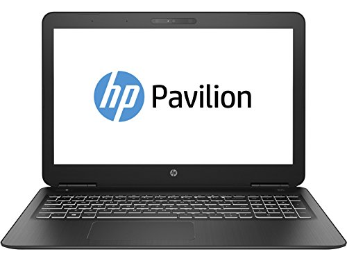 HP Pavilion Power 15-bc301ns - Ordenador portátil gaming de 15.6' FullHD (Intel Core i7-7500U, 8 GB RAM, 1 TB HDD, NVIDIA GeForce GTX 950M de 4 GB, Windows 10); Negro - teclado QWERTY Español