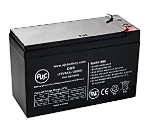Liberty Platinum Portable Sound 12V 8Ah Wheelchair Battery - This is an AJC Brand® Replacement