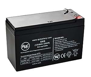 Batterie Genesis NP7-12T 12V 8Ah UPS - Ce produit est un article de remplacement de la marque AJC®