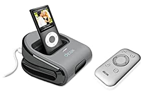 Dexim DRA107C Station d'accueil avec Télécommande Infrarouge Pour iPHONE / iPOD Compatible iPHONE 3G / 3G S / iPOD TOUCH G3 / G2 Gris
