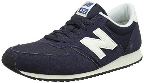 New Balance U420NVB, Baskets Mixte Adulte, Bleu (Navy), 44 EU
