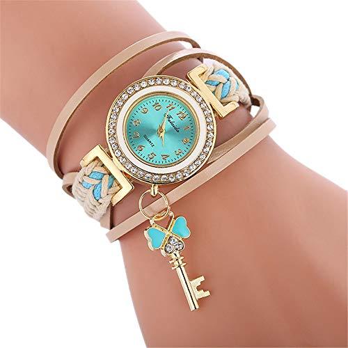 Cramberdy❤️ Damen Uhr, Armbanduhr Frauen Einfache Casual Armbanduhr Weibliche Watch Uhren für Frauen Lady Teenager Mädchen