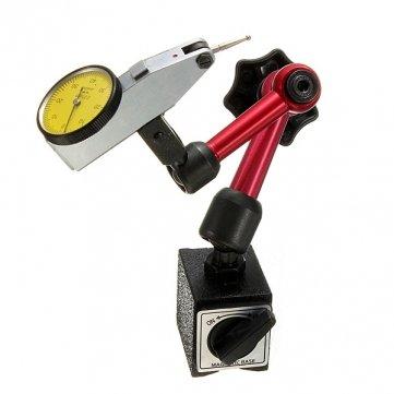 Mini Flexible magnetischer Unterseite Halterung Ständer Zifferblatt Test Indikator Werkzeug