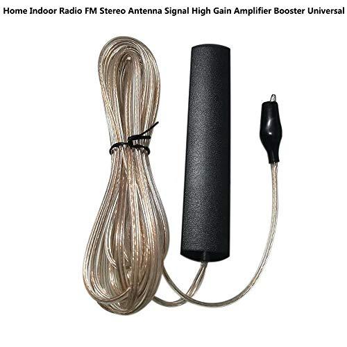 Home Indoor Radio FM Stereo Antenne Signalverstärkung Verstärker Booster Universal (Antenne Fm / Indoor Am)