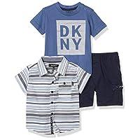 DKNY Baby Boys' Shorts Set, The AVE Khaki, 12M