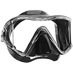 Mares Mask I3 Diving Googles - Black/Black, Size BX BXSBKBK by Mares