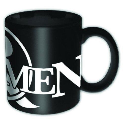 Of Mice & Men Taza Negra Logo Producto Oficial