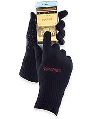 Ciclo del deporte Running guantes del tacto de la tecnología de la pantalla por Sundried - transpirable bambú antideslizante del gel de silicona
