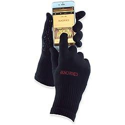 Sundried Ciclo del deporte Running guantes del tacto de la tecnología de la pantalla transpirable bambú antideslizante del gel de silicona