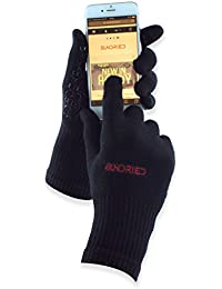 Cycling Sport Running Gloves Touch Screen Tech by Sundried - Breathable Bamboo Non-slip Silicone Gel