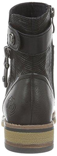 Marco Tozzi 25485, Bottes Classiques Femme Noir (BLACK ANT.COMB 096)