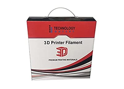 TECHNOLOGYOUTLET PREMIUM 3D PRINTER FILAMENT 1.75MM ABS (Orange)