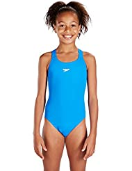 Speedo Mädchen Badeanzug Essential Endurance Plus Medalist