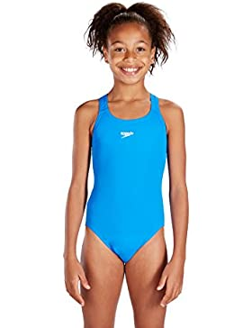 SPEEDO Endurance+ Medalist Costume Nuoto Junior, Blu, 61cm