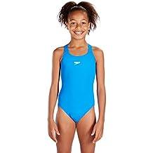 Speedo Endurance  - Bañador para niña, Azul, ES : 12 años (Talla del fabricante : 12años)