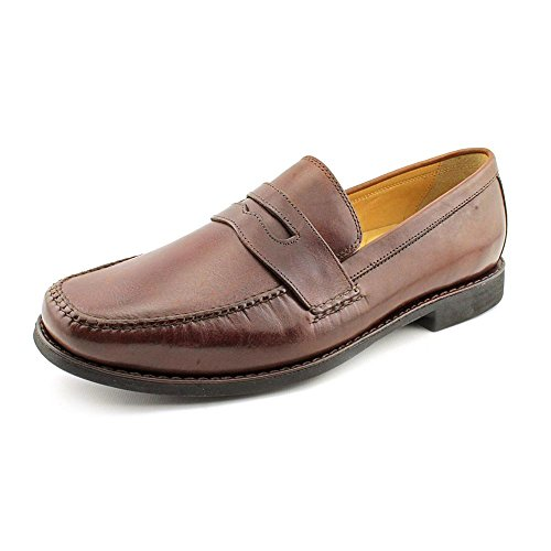 johnston-murphy-ainsworth-penny-slip-on-uomo-us-9-marrone-mocassini