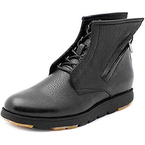 autunnali e l'invernali stivali pelle utensili/Moda casual scarpe/Alta lato cerniera