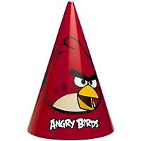 6 Gorros de fiesta Angry Birds