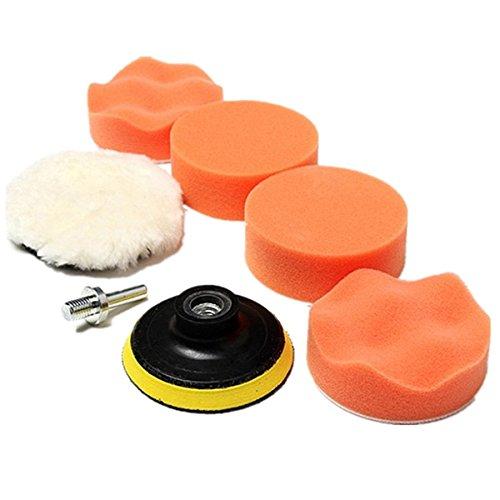 Polissage Polissage Pad épilation éponge de polissage laine polissage Plaquettes Kit voiture voiture avec M10 embouts