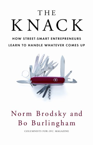 The Knack: How Street-Smart Entrepreneurs Learn to Handle Whatever Comes Up (English Edition) (Boys Blue Nikes)