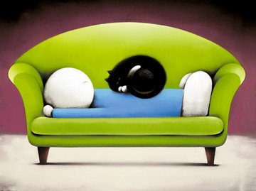 Catnap II - Limited Edition Print By Doug Hyde