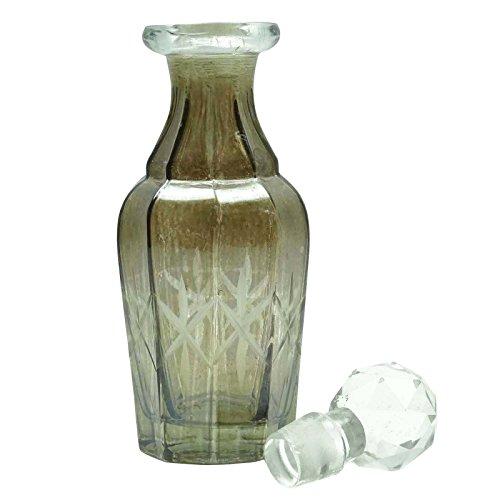 1 Pc Bouteille vide Verre Cristal Decanter gros rechargeable Decanter Essential bouteilles d'huile de parfum Avec Stopper 100 ml