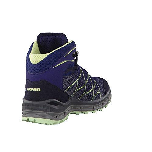 Lowa Scarpe da trekking Aerox GTX MID 320611 blu/verde menta