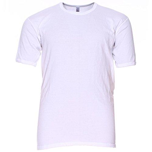 01718beedd295 Adamo Maillot de Corps Grande Taille Blanc Coton