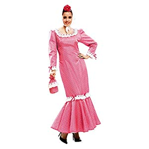 My Other Me Me - Disfraz de madrileña para mujer, talla XL, color rosa (Viving Costumes MOM02325)
