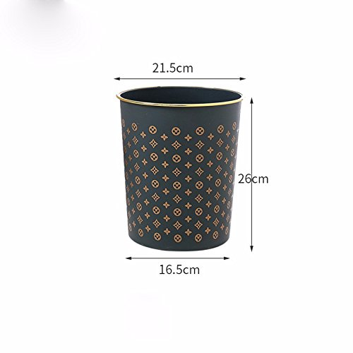 KPHY-Household waste bin, WC, cocina basura, Oficina, sala, comedor, Cuarto de baño, plástico Portable papelera,Un