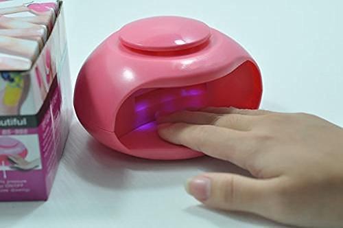 House Of Quirk Mini Portable Uv Light Finger Nail Fast Polish Blower Dryer Nail Fast Polish Blower Dryer For Nail Art Tip