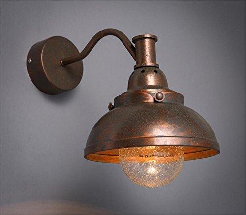 Bronze Marokkanische Wandleuchte (Atmko®Wandlampe Wandleuchte Vintage Industrie Wandleuchten Wandleuchte Wandleuchter Schlafzimmer Flur Treppenhaus Schmiedeeisen Metal Wandleuchten Fixtures Bronze)
