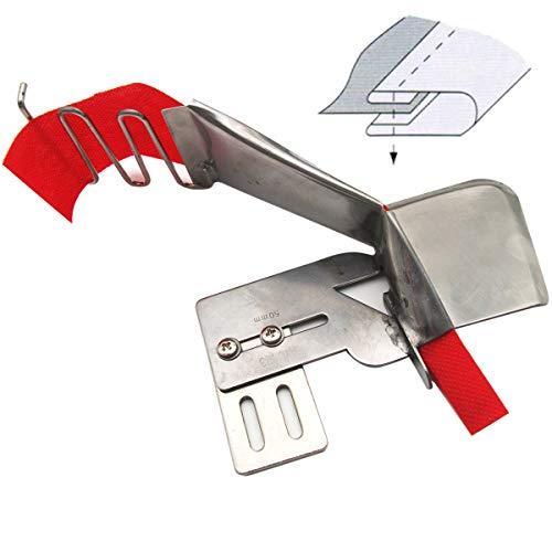 kunpeng – # kp-123 1piezas Machine à coudre tresse ou ruban plat fichier adjoint Classeur avec guide de ruban Tape Cut Size 3/4\