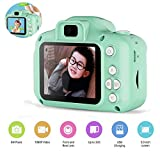 Womdee Kid's s Digital Mini Camcorder Front and Rear Camera with 2inch Screen and Shockproof Anti-fall Protection for Age 3-14