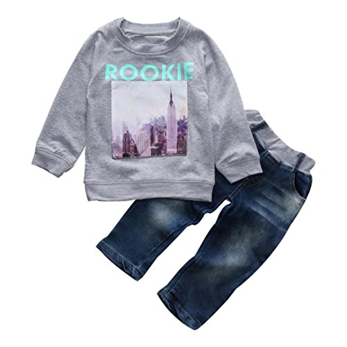 hunpta-1set-kleinkind-baby-junge-madchen-langarm-t-shirt-jeans-hosen-kinder-kleidung-outfits-100cm-g