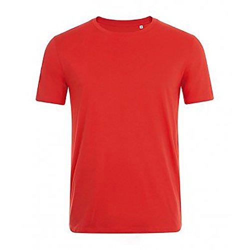 SOLS Herren Marvin Kurzarm T-Shirt Mausgrau