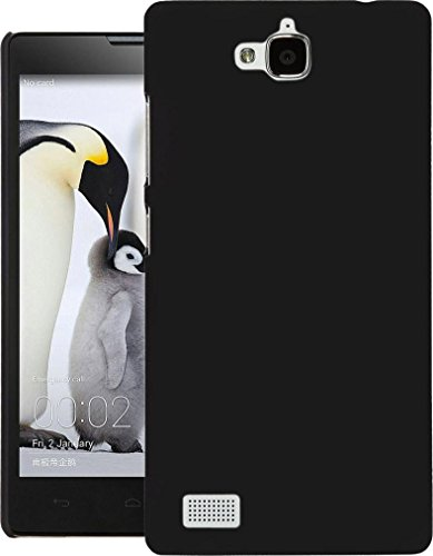 Cubix® Honor 3C Case, Super Slim Hard Back Cover for Huawei Honor 3C Black  available at amazon for Rs.290