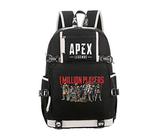 Apex Legends Nuevo 2019 Unisex Mochilas, Bolso Digital de Moda, Mochila de Viaje, Lifeline &Wraith