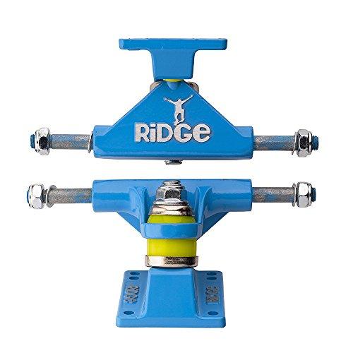 Ridge Skateboard Achsen für Mini Cruiser, Blue, TRUCKS-R22