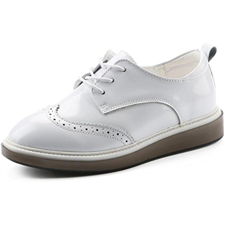 8327ab715abe9 Mme chaussures de de chaussures cabrage chaussures simples femmes de  printemps rétro petites chaussures - B073SWF7HG