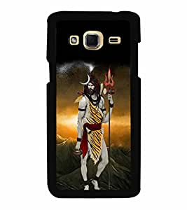 Lord siva in tiger skin Back Case Cover for SAMSUNG GALAXY J3