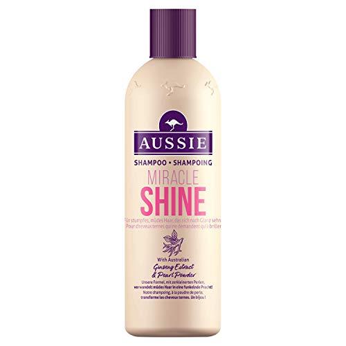 Aussie Miracle Shine Shampoo für stumpfes, glanzloses Haar, 1er Pack (1 x 300 ml)