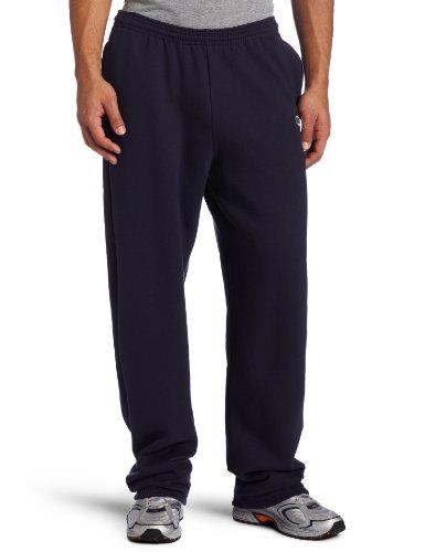 Champion Men's Open Bottom Eco Fleece Sweatpant, Navy, XX-Large 20 Fleece Open Bottom Pants