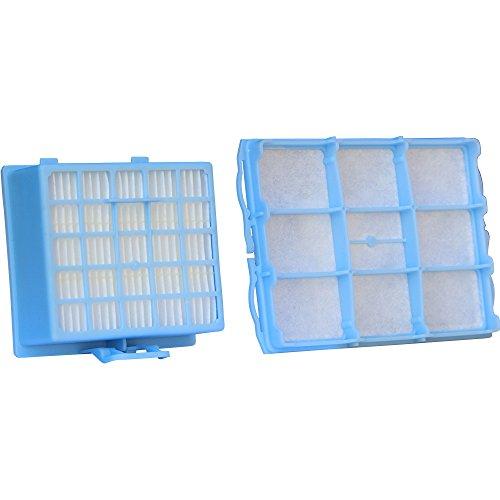 Set di filtri per aspirapolvere con 1filtro hepa e 1filtro di protezione motore adatto per bosch bsg6/siemens vs06g serie