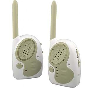 KOO Interactive - Ecoute Bebe Audio Bi Canal - Babyphone - Portee 400m