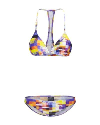 Bench, Bikini Donna Tori, Multicolore (spectra yellow), L
