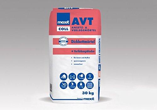maxit coll AVT - Trassmörtel, 30kg