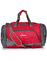 Optima Sports Duffle Bag, 31L Waterproof Gym Bag for Men and Women, Durable Travel Duffel Bag with Shoulder Strap Black/Gray