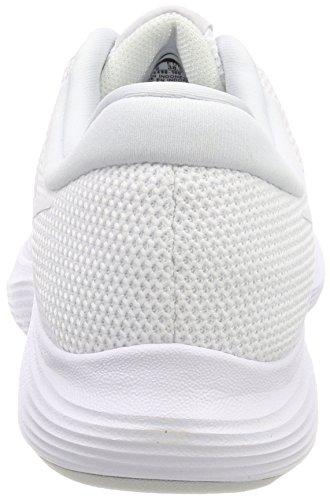 Nike Revolution 4, Scarpe Running Uomo Bianco (White-pure Platinum 100)